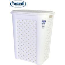 Cesto ropa 50l Arianna blanco / Tontarelli