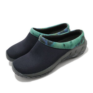 Merrell Encore Breeze 4 Navy Print Women Slip On Casual Loafers Shoes J002524