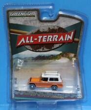 """GREENLIGHT 1:64 * ALL TERRAN """" R10A 1971 Jeep Jeepster Commando SC-1 Orange"""