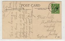 Picture postcard with GOREY JERSEY postmark (C20294)