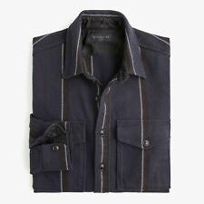 Destination x J. Crew Men's Two-pocket Twill Workshirt Shirt $128 NEW L
