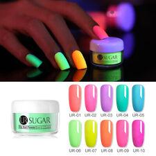 UR SUGAR 5ml Fluorescence Dipping Nail Powder Nail Art Decoration Natural Dry