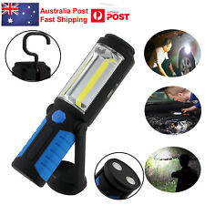LED COB Inspection Lamp Work Light Flexible Rechargeable Hand Torch Magnetic AUS