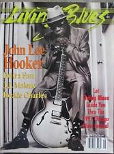 LIVING BLUES MAGAZINE #133 (1997) JOHN LEE HOOKER, LaVern Baker, DEITRA FARR