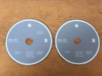 2004 Macintosh iMac G5 Mac OS X 10 10.3.5 Panther Software Install CDs Discs