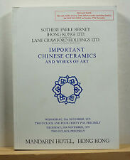 Sotheby's Important Chinese Ceramics and Works of Art 11/28/1979 Hong Kong