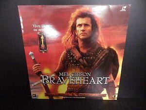 Laserdisc, Braveheart, Mel Gibson, Very Good Condition! Complete
