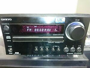 Onkyo CR-435 UKD Stereo CD Player Receiver DAB