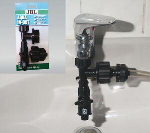 JBL Aqua In-Out Wasserstrahlpumpe Aquarium Reinigung  Wasserwechsel