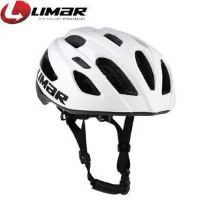 Limar 797 Road Cycling Helmet | Matte White/Black