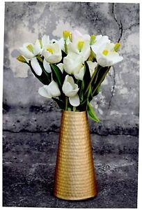 Metallic Flower Vase ( Golden)