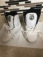 Otomix Athletic Weightlifting White Leather Shoes FX2001 Size Mens 5 W 6.5