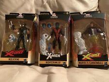 Marvel Legends X-MEN BAF Wendigo X-Force Complete set of 6 Hasbro New