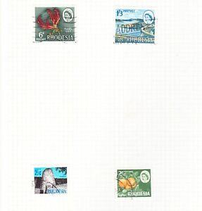 Rhodesia Stamps (Now Zimbabwe)
