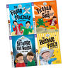 Read with Oxford Stage 5 Biff Chip and Kipper Collection 4 Books Set Fireball