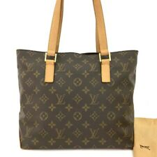 100% Authentic Louis Vuitton Monogram Cabas Piano Shoulder Tote Bag /30360