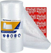 Metronic Bubble Cushioning Wrap Roll 12x72 Ft Bubble Roll Perforated 1212 2