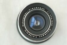 Schneider 28mm f/4 Retina Curtagon Lens with DKL to  EOS Canon Adapter Ring