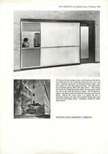 1960 Cambridge Instrument Company Reception Desk