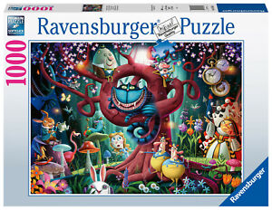 Ravensburger Alice in Wonderland Most Everyone is Mad 1000pc Puzzle RB16456-1