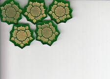5x House Tyrell Acrylic Power Tokens AGoT LCG 2.0 Game of Thrones Promo