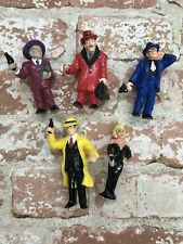 New listing Vintage Dick Tracy Pvc Action Figure Lot of 5 Toy Applause Disney Figures
