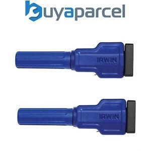 x2 Irwin Q/G1988919 Quick-Grip Edge Clamp Accessory Trim Clamp 1988919
