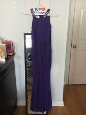 Womens Purple Bridesmaid Dress and/or formal Long Cocktail Evening, Size 0