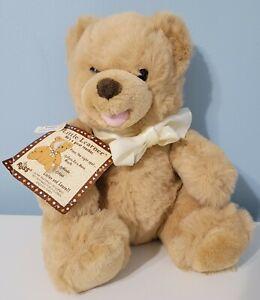 "RUSS 10"" Little Learner Brown Teddy Bear Plush Interactive Learning Elementary"