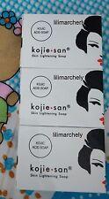 LIMITED EDITION! 3bars @65g Kojie San Skin Whitening Lightening  Kojic Acid Soap