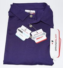 Grand Slam Men's 360 Motion Flow Shirt - Parachute Purple - Medium