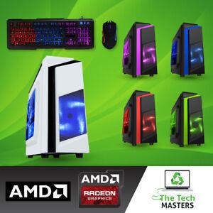 ULTRA FAST Minecraft Gaming PC AMD Dual Core 8GB RAM 500GB HDD R5 Graphics