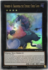 Yu-Gi-Oh!- 6X Number 41:Bagooska the Terribly Tired Tapir - BLRR-EN085  -1st E.