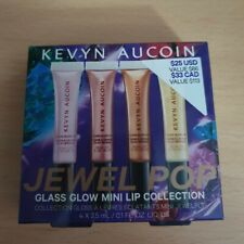 KEVYN AUCOIN Jewelpop Glass Glow Mini Lip Collection Gift Set.Limited Edition