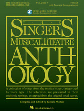 The Singer's Musical Theatre Anthology - Volume 7 Tenor Book/Online Audio