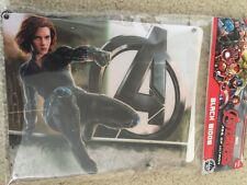 Sound Activated Black Widow Avengers Age Of Ultron Light Flashing Panel