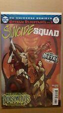 SUICIDE SQUAD #26 REBIRTHDark Nights Metal tie in. Harley Quinn Poison Ivy