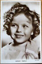 Shirley Temple 1930s Realphoto Movie Star Postcard - Smiling, Fox Films