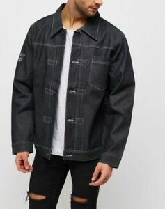 Mens Denim Jacket Trendy Mens Jean Jacket Casual Mens Outwear