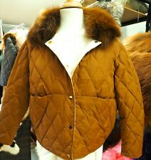 - Super Warm Down Quilted Jacket - With a lovely fur Collar - Smart and Casual