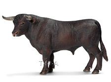 FREE SHIPPING | Schleich 13722 Black Spanish Fighting Bull Toy  - New in Package