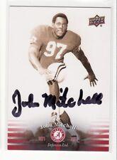 JOHN MITCHELL OKLAHOMA UNIVERSITY AUTOGRAPHED CARD THROUGH THE MAIL