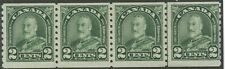 Canada 1931 KGV Arch/Leaf 2c dull green coils with line pair #180, 180i ml/nh