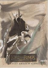 "Lord of the Rings Masterpieces II - Kyle Babbitt ""Witch King"" Sketch Card"
