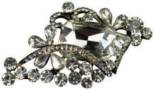 Modeschmuck-broschen aus Kristall und Metalllegierung