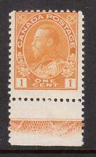 Canada #105 NH Mint Lathework C