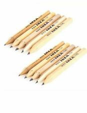IKEA Wooden PENCILS Pack of 10 NEW GENUINE FREE