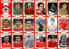 Manchester United 1967 Division One Champions football trading cards (1966-67)