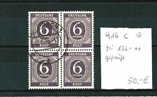 Gestempelte Briefmarken aus Deutschland (ab 1945) für Post, Kommunikation