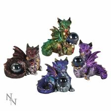 Set of 4 Home Decorations Dragon Ornaments Decorative Display Figurines
